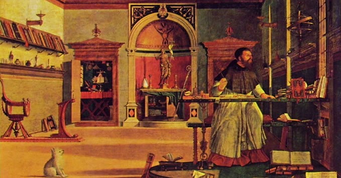 Resultado de imagem para santo agostinho, trivium e quadrivium